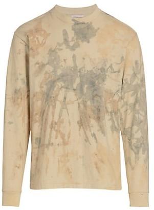 John Elliott Long-Sleeve Acid Wash T-Shirt