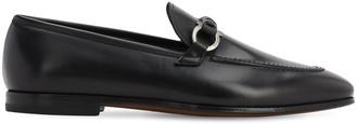 Salvatore Ferragamo Tai Leather Loafers W/ Horsebit