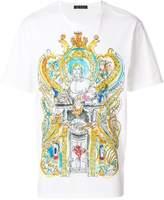 Versace Greek mythology drawing print T-shirt