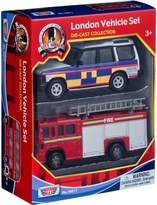 "Motormax 5"" London 2 Pack Vehicle Set (Assorted)"
