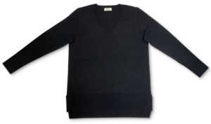 Style&Co. Style & Co V-Neck Band-Hem Sweater, Created for Macy's