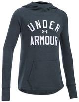 Under Armour Girls' Logo Waffle Knit Hoodie - Sizes XS-XL