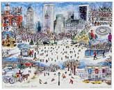 "Michael Storrings Snowfall in Central Park Print, 11"" x 14"""