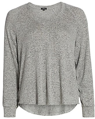 Rails Thalia V-Neck High-Low Sweater