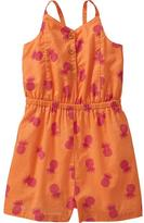 T&G Pineapple-Print Rompers for Baby