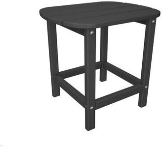 """South Beach Polywoodâ Side Table POLYWOODA Color: Aruba, Table Size: 18"""" H"""