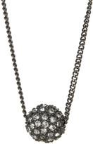 Givenchy Embellished Fireball Pendant Necklace