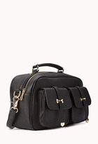 Forever 21 Everyday Faux Leather Satchel