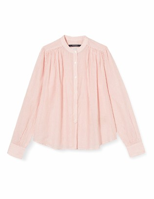 Scotch & Soda Girl's Loose Light Weight Cotton Shirt with Pleating