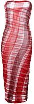 Stella McCartney fine knit strapless dress