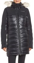 Columbia Women's Heatzone 1000 Turbodown(TM) Hooded Jacket With Faux Fur Trim