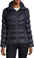 MICHAEL Michael Kors Packable Cinched-Waist Puffer Jacket
