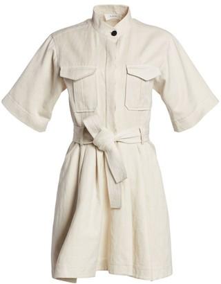 A.L.C. Brynn Flared Cargo Shirtdress