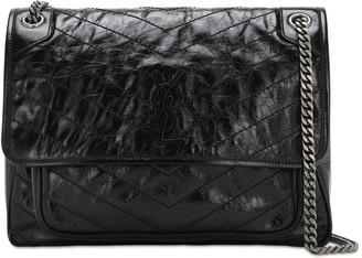 Saint Laurent Large Niki Monogram Leather Bag