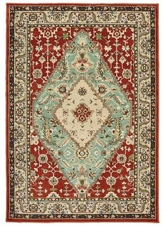 StyleHaven Traditional Medallion Area Rug