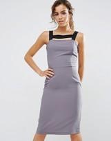 Love Cami Midi Dress With Contrast Strap