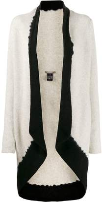 Suzusan cashmere two-tone cardigan