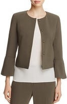 St. Emile Shiva Cropped Flared Sleeve Jacket