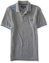 Aeropostale Mens A87 Double-Tipped Logo Piqu? Polo Shirt