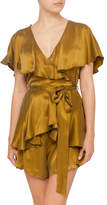 Zimmermann Wrap Playsuit