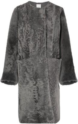 Furling By Giani Oversized Shearling Coat