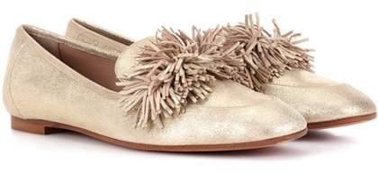 Aquazzura Wild Loafer leather ballerinas