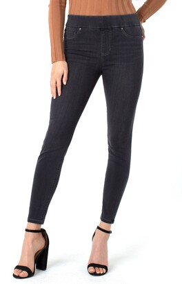 Liverpool Los Angeles Sienna High Waist Pull-On Skinny Jeans