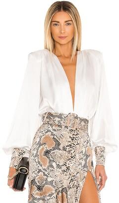 Bronx and Banco Leona Silk Bodysuit