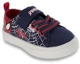 Licensed Marvel® Toddler Boys' Spiderman Canvas Sneakers - Navy