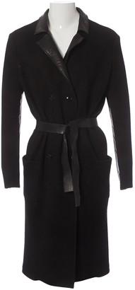 Bottega Veneta Black Wool Coat for Women