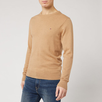 Tommy Hilfiger Men's Luxury Touch Knitted Crew Neck Jumper