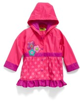 Western Chief Toddler Girl's Flower Cutie Raincoat