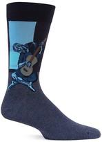 Hot Sox Old Guitarist Socks