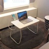 """Keesee 26"""" Height Adjustable Computer Table with Phone Holder and Wrist Rest Pad Symple Stuff"""