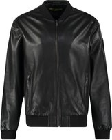 Versace Jeans Generico Leather Jacket Nero