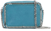 Stella McCartney chain-detail clutch - women - Polyester/Metal (Other) - One Size