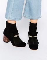 Asos RIO Chain Ankle Boots