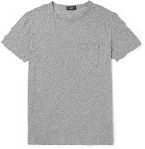 Theory Perrey Slim-Fit Mélange Pima Cotton-Jersey T-Shirt
