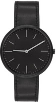 Uniform Wares Black Leather M37 Watch