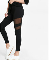Express high waisted mesh inset leggings