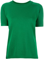 Cédric Charlier short sleeve jumper - women - Cashmere/Wool - 40
