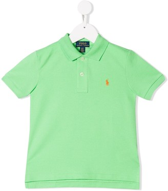Ralph Lauren Kids logo embroidered polo shirt