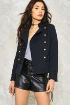 Nasty Gal nastygal Femme in Charge Military Jacket