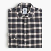 J.Crew CordingsTM for shirt in graphite plaid
