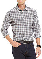 Daniel Cremieux Grandeur Nights Collection Long-Sleeve Slim-Fit Check Woven Button-Front Shirt