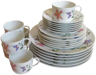 One Kings Lane Vintage Raynaud Limoges Porcelain Service for 6 - The Emporium Ltd.