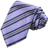 LUQUAN Fashion Men's Striped NeckTies For Suit Gifts Neckties