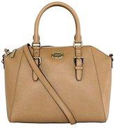 Michael Kors Mchael Kors CIARA Large Top Zip Leather Satchel Shoulder Handbags