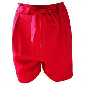 Asos Red Shorts for Women