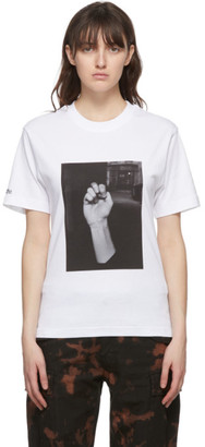 032c White Die Todliche Doris Edition Fist T-Shirt